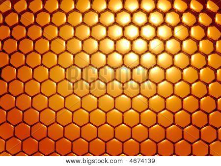 Gold Honeycombs