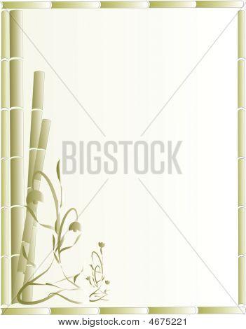 Bamboo Background Illustration..