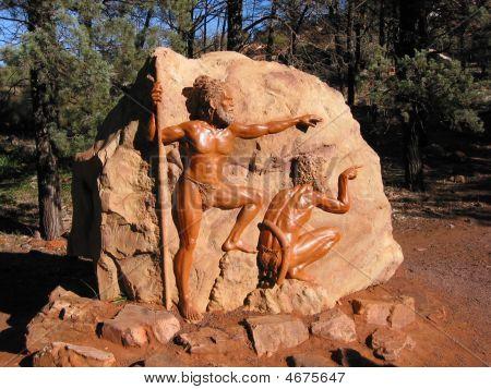 Aboriginal Rock Carving Wilpena