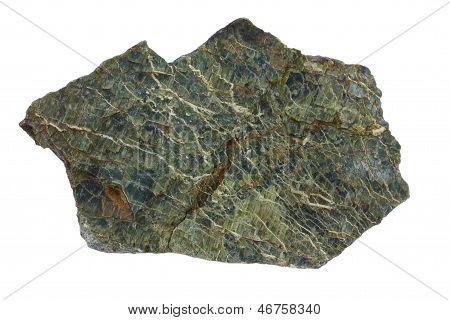 Serpentinite from the Troodos ophiolite in Cyprus