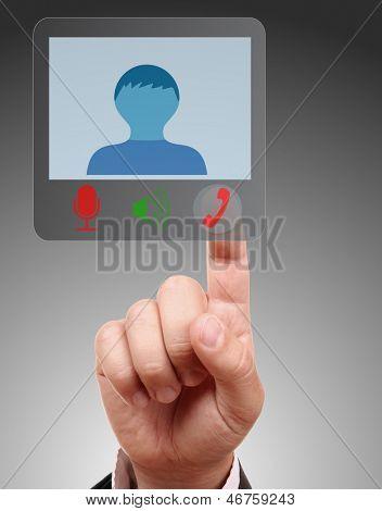 Concept of  teleworking