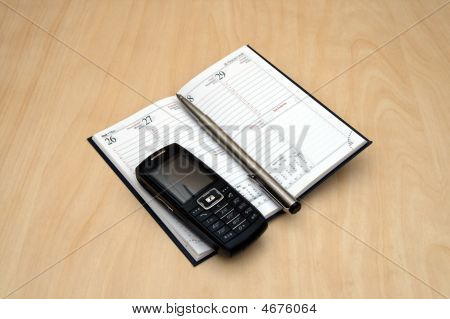 Mobile Pen And Organizer