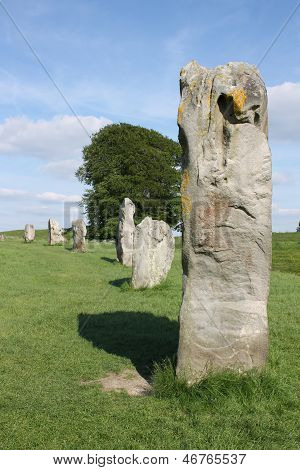 Avebury Neolithic standing stones