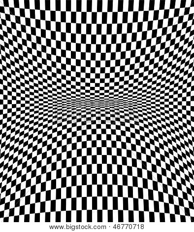 Checkered Texture 3D Background
