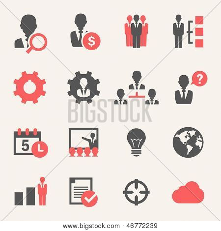 Internet Business. Icon set