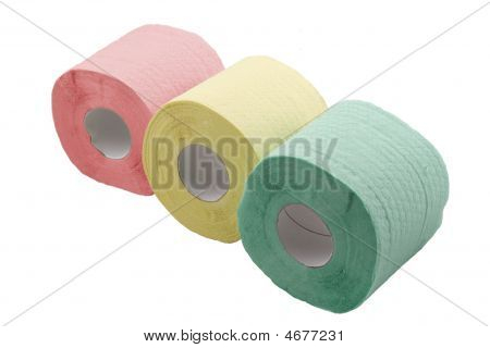 Three Rolls Of Toilet Paper