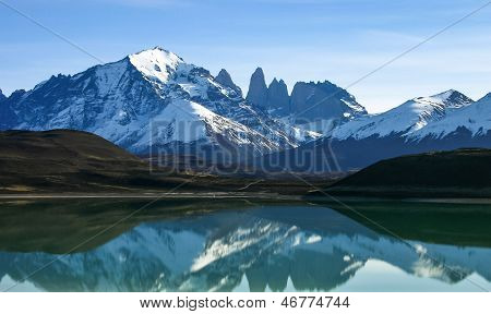Lago Grey In Torres Del Paine