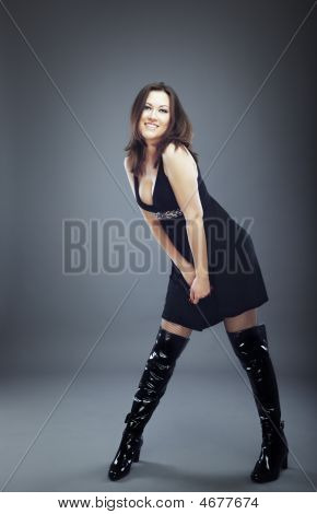 Model In Jackboots