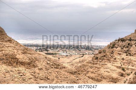 Jericho In Judean Desert