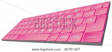 Girly Keyboard - M�dchen Tastatur