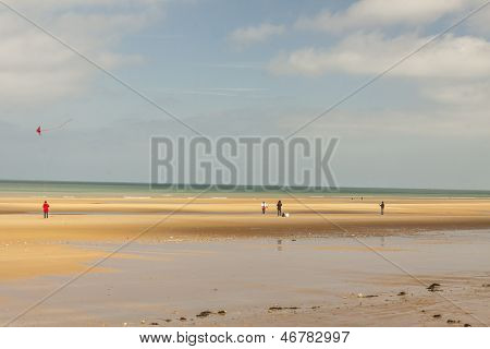 Omaha Beach, - Normandy, France.