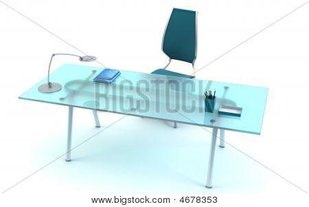 Director's Office 3D Rendering