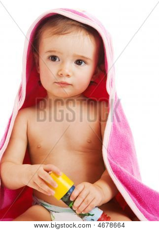 Baby In Towel
