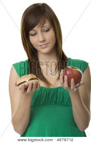 Burger Or Apple