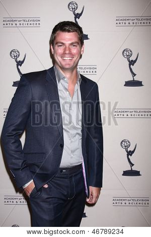 LOS ANGELES - JUN 13:  Jeff Branson arrives at the Daytime Emmy Nominees Reception presented by ATAS at the Montage Beverly Hills on June 13, 2013 in Beverly Hills, CA
