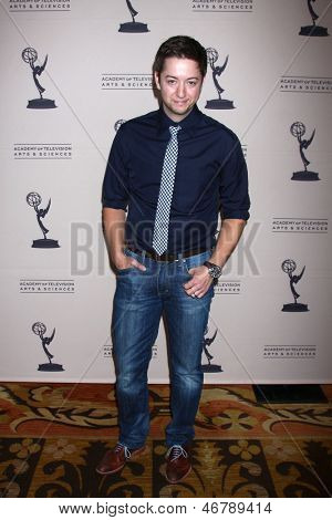 LOS ANGELES - JUN 13:  Bradford Anderson arrives at the Daytime Emmy Nominees Reception presented by ATAS at the Montage Beverly Hills on June 13, 2013 in Beverly Hills, CA