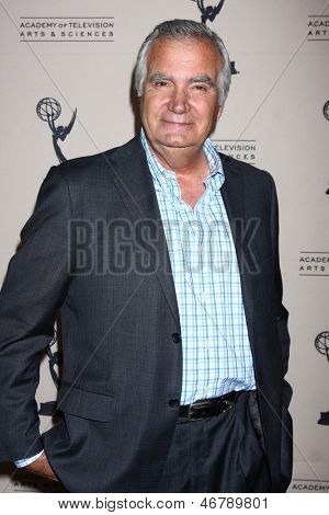 LOS ANGELES - JUN 13:  John McCook arrives at the Daytime Emmy Nominees Reception presented by ATAS at the Montage Beverly Hills on June 13, 2013 in Beverly Hills, CA