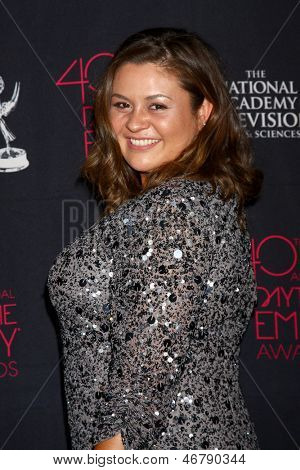 LOS ANGELES - JUN 14:  Angelica McDaniel attends the 2013 Daytime Creative Emmys  at the Bonaventure Hotel on June 14, 2013 in Los Angeles, CA
