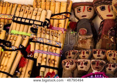 Authentic South American Panflutes