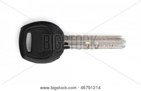 Door key. Isolated on white background