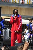 LOS ANGELES - JUN 12: Snoop Dogg at the Turbo-Charged Party and Surpise Pop-Up concert at L.A. Live