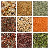 foto of quartz  - Global collage of sand samples - JPG