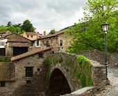 picture of municipal  - old bridge in Potes - JPG