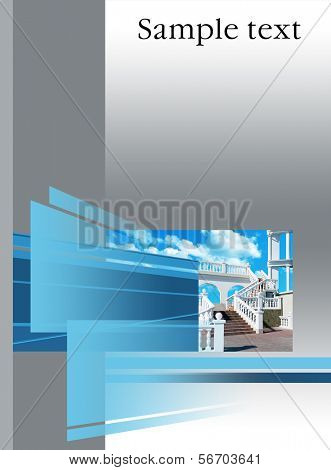 architectural cover booklet, prospectus