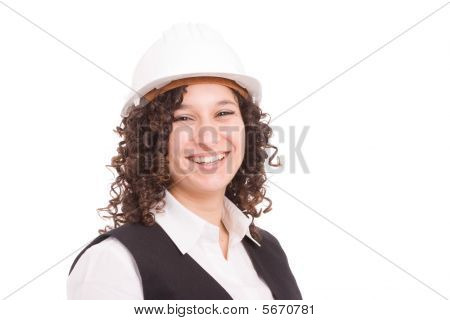 Young Engineer Portrait