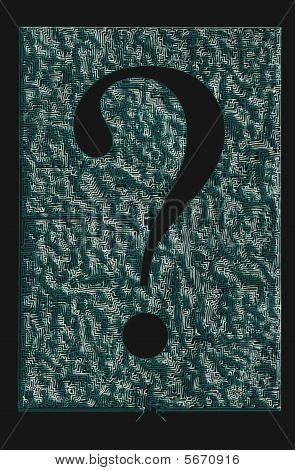 Maze Question Mark