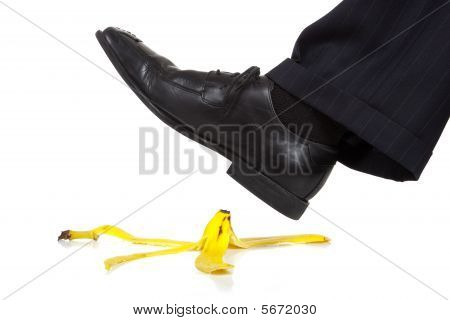 Stepping On A Banana Peel