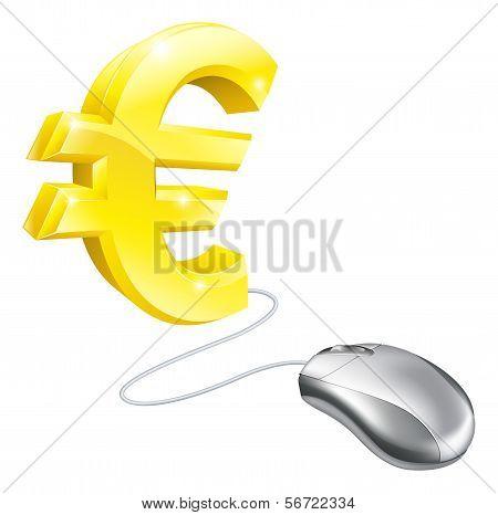 Computer Mouse Euro Concept