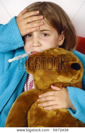 Sick Child With Fever
