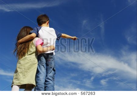 Children On Sky