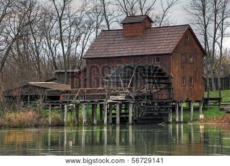 Watermill Jelka In Slovakia