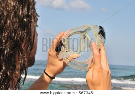 Looking Through The Goggles For Diving