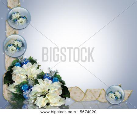 Christmas Background Elegant Blue