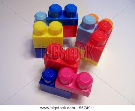 Kinder Spielzeug Blöcke
