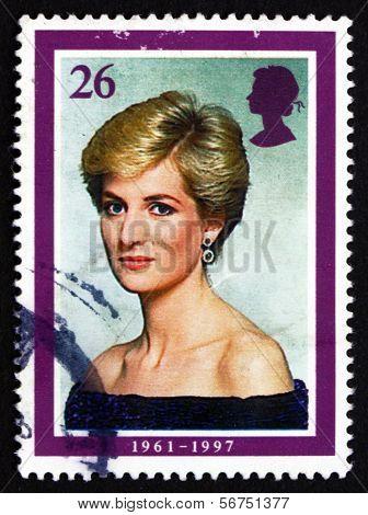 Postage Stamp Gb 1998 Princess Diana