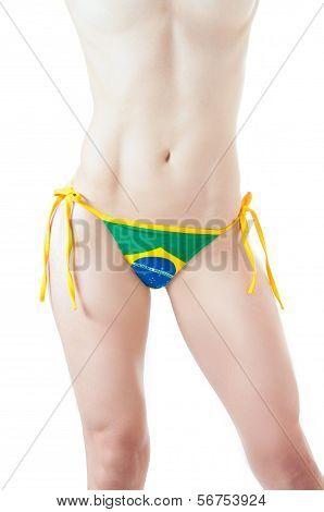 Brazilian Bikini Bottom Topless