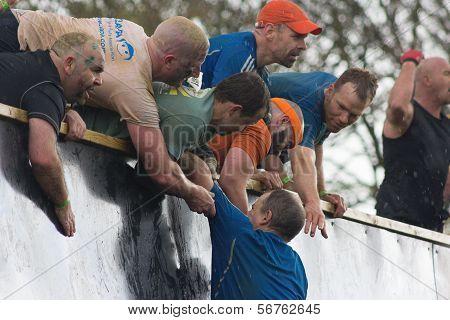 Tough Mudders Climbing Everest