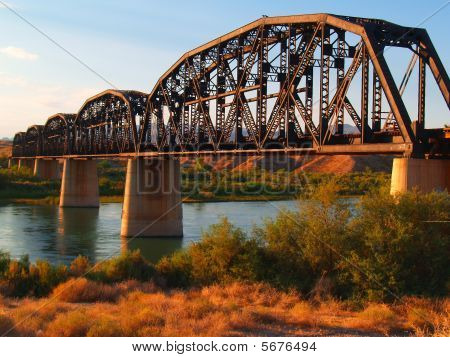 Desert Railroad Bridge