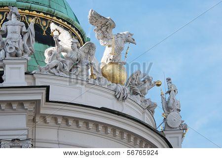 Dome Of Alte Burg, Vienna