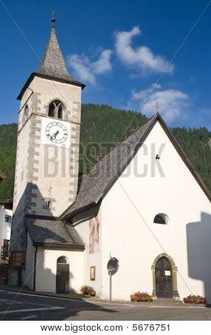 Church In Canazei