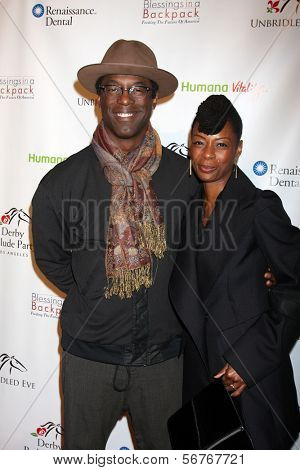 LOS ANGELES - JAN 9:  Isaiah Washington at the
