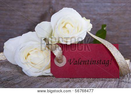 Valentines Day Label