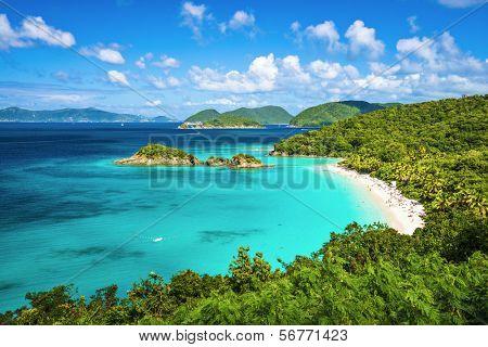 Trunk Bay, St. John, Islas Vírgenes.