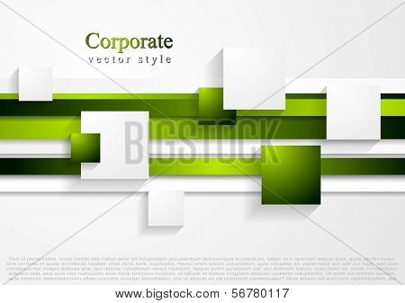 Vector abstract tech bright background