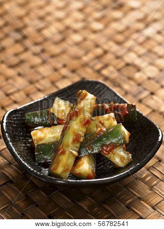 Korean Cucumber Banchan