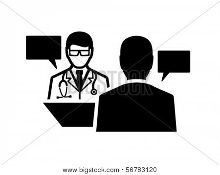 Doctor and patient dialog